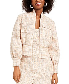 Tweed Bolero Jacket