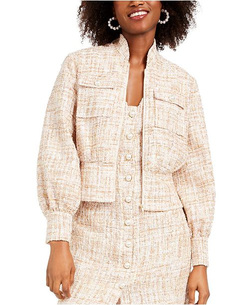 foxiedox Tweed Bolero Jacket