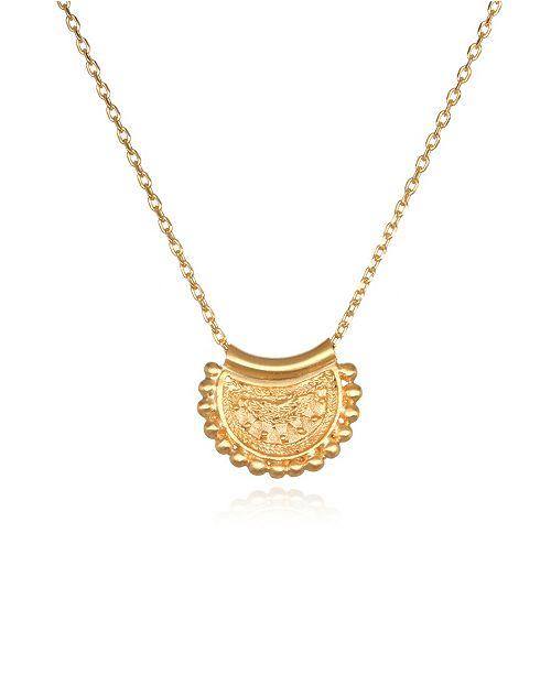 """Satya Jewelry Mini Mandala 18"""" Necklace"""