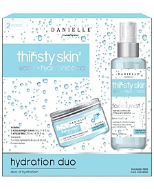 Danielle Thirsty Skin Hydration Duo Water -2 Piece