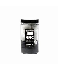 Quote Bath Bomb Jar