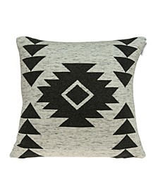 Arika Southwest Tan Pillow Cover With Down Insert