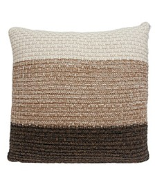 Athea Transitional Multicolor Pillow Cover With Down Insert