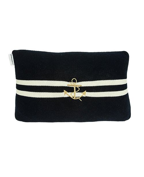 Parkland Collection Bounty Nautical Blue Pillow Cover