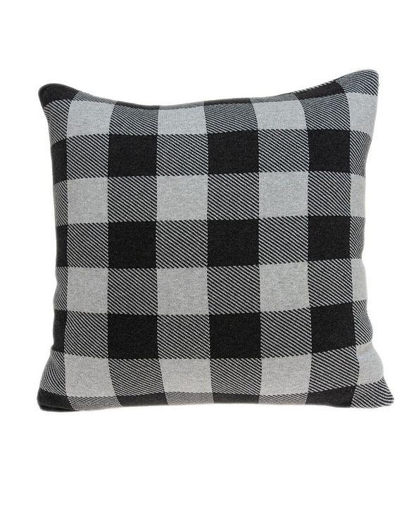Parkland Collection Lucas Transitional Grey Pillow Cover