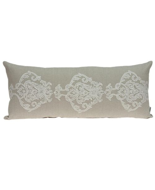 Parkland Collection Georgia Transitional Beige Pillow Cover