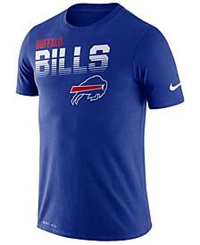 Men's Buffalo Bills Sideline Legend Line of Scrimmage T-Shirt