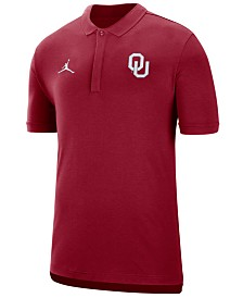 Jordan Men's Oklahoma Sooners Coaches Polo