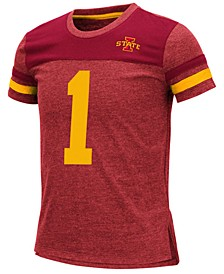 Big Girls Iowa State Cyclones Mink T-Shirt