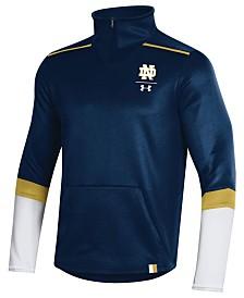 Under Armour Men's Notre Dame Fighting Irish Team Issue Quarter-Zip Pullover