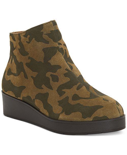 Lucky Brand Women's Karmeya Leather Booties