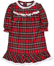Baby Girls Plaid Nightgown