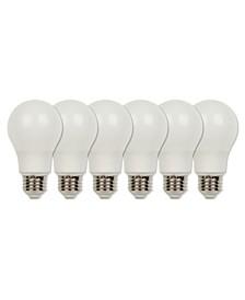 Lighting (60-Watt Equivalent) Bright White Omni A19 Energy Star LED Light Bulb with Medium Base, Pack of 6