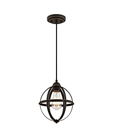 Lighting Stella Mira One-Light Indoor Mini Pendant