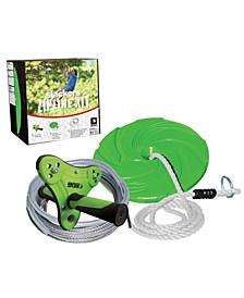 Slackers Zipline 40' Outdoor Play Adventure Zip Line System For Kids