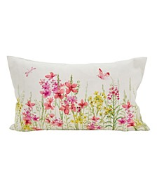 "Floral Fields Accent Throw Pillow, 12"" x 20"""