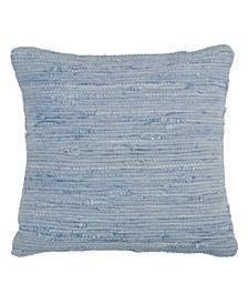 "Chindi Design Throw Pillow, 18"" x 18"""