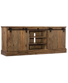 L'Usine Sliding Door Entertainment Console