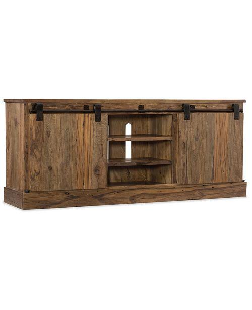 Furniture L'Usine Sliding Door Entertainment Console