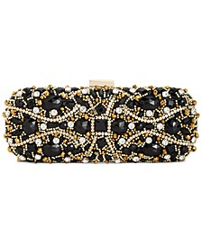 INC Hulya Ornate Cage Clutch, Created For Macy's