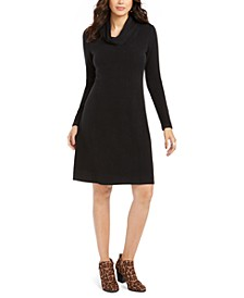 Cowl-Neck Sweater Dress, Created For Macy's