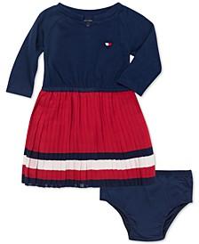 Baby Girls Pleated Dress