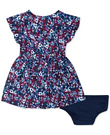Tommy Hilfiger Baby Girls Floral-Print Challis Dress