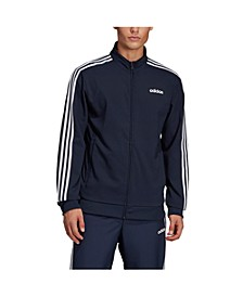 Men's Essentials Slim Fit 3-Stripe Woven Track Jacket