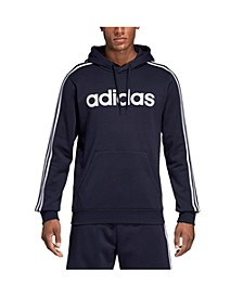 Men's Essentials 3-Stripes Fleece Logo Hoodie