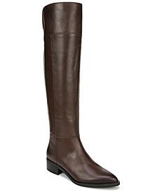 Daya Wide Calf High Shaft Boots