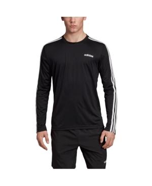 Adidas Originals T-shirts MEN'S ESSENTIALS LONG SLEEVE SOCCER T-SHIRT