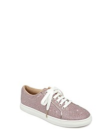 Jewel Badgley Mishcka Ryan Glitter Sneakers