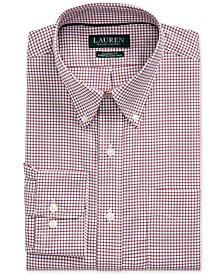 Men's Classic-Fit Easy Care Gingham Dress Shirt