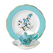 100 Years 1950 3-Piece Set -Teacup, Saucer & Plate - Festival
