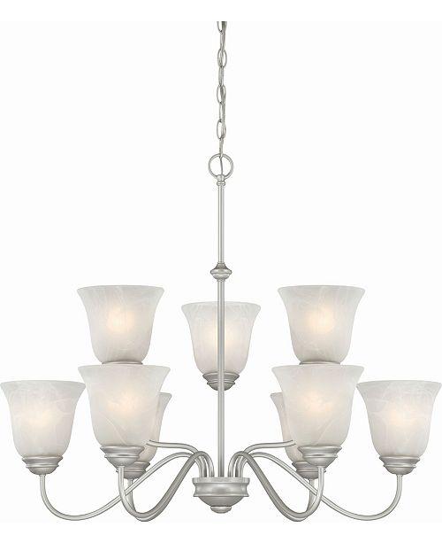 Volume Lighting Hammond 9-Light Hanging Chandelier