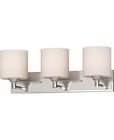 Milena 3-Light Bath or Vanity Bar Light or Wall Mount