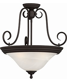 Troy 3-Light Convertible Hanging Pendant