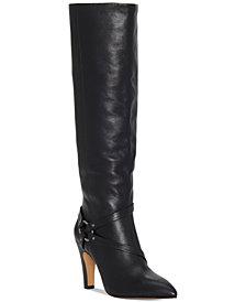 Vince Camuto Women's Charmina Wide-Calf Dress Boots