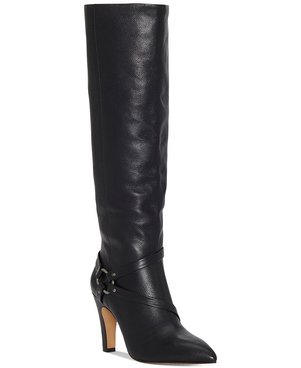 Vince Camuto Women's Charmina Wide-Calf Dress Boots