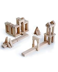 Guidecraft Unit Block Set B - 56 Pieces Set