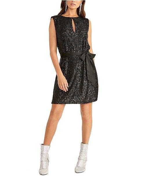 RACHEL Rachel Roy Sequin Dress