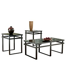 Ashley Furniture Laney Table Set of 3