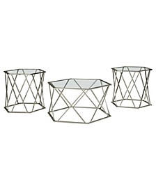 Ashley Furniture Madanere Table Set of 3