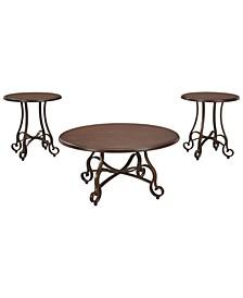 Ashley Furniture Carshaw Table Set of 3