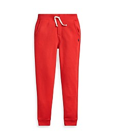 Polo Ralph Lauren Big Boys Fleece Drawstring Joggers