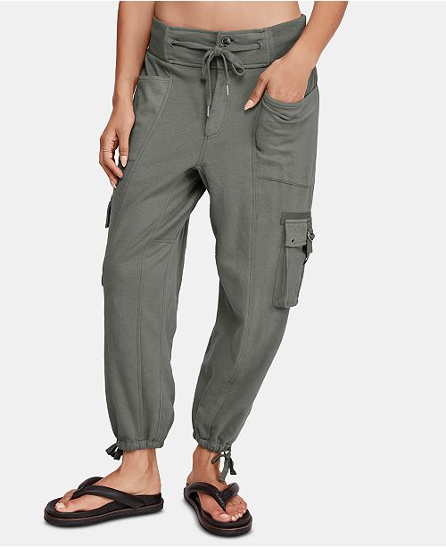 Free People Semi-Charmed Drawstring Cargo Joggers