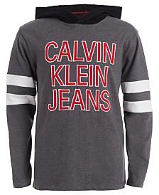 Calvin Klein Jeans Big Boys Team Logo Hoodie