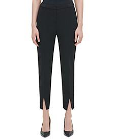 Slit-Front Pants