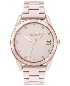 Women's Preston Blush Ceramic Bracelet Watch 36mm