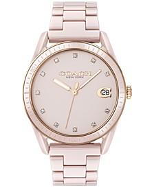 Women's Preston Blush Ceramic Bracelet Watch 36mm